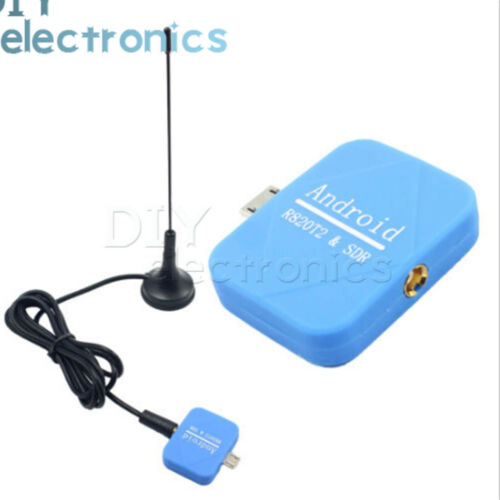 USB RTL2832U+R820T2 RTL-SDR ADS-B Receiver with Antenna Android Phone US
