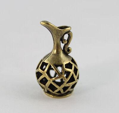 5PCS Antiqued Bronze Hollow Out Teapot Charm Pendants #22930