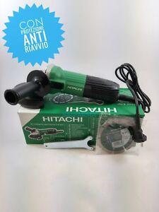 Smerigliatrice-angolare-115mm-600-W-professionale-Anti-Riavvio-Hitachi-G-12STA-S