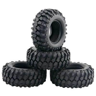 RC 1:10 Rock Climbing Car Racing Tires Tyre 1.9inch 96mm 4Pcs For HSP HPI 7006