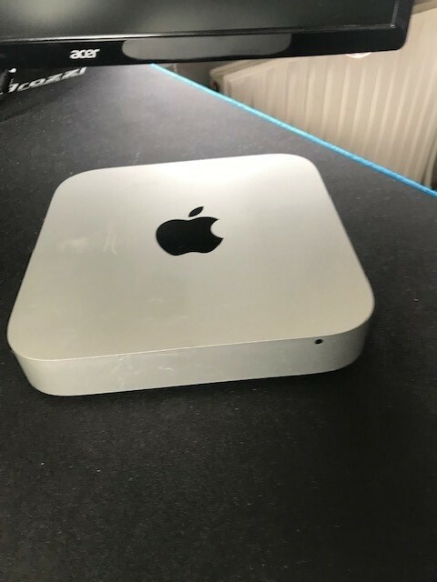 Mac mini, Late 2012, 2.5 GHz, 4 GB ram, 500 GB harddisk,…