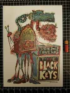 Built to Spill Concert Poster 14 x 10 Reproduction