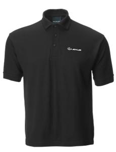 Lexus Black Polo Shirts Medium