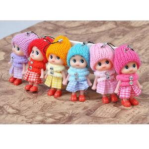 6x-Animals-Key-Chain-Cute-Fashion-Kids-Plush-Dolls-Keychain-Soft-Stuffed-Toys-NT