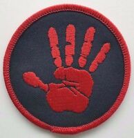 Supernatural Hand Print Embroidered Patch