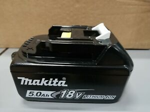 BATTERIA-ORIGINALE-MAKITA-BL1850B-18V-5-0Ah-LI-ION-con-LED-CARICA