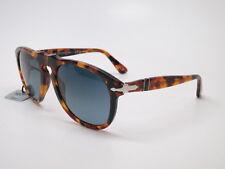 8ede81a4d1 Persol PO 649 1052 S3 Madreterra w Dark Blue Gradient Polarized Sunglasses  54mm