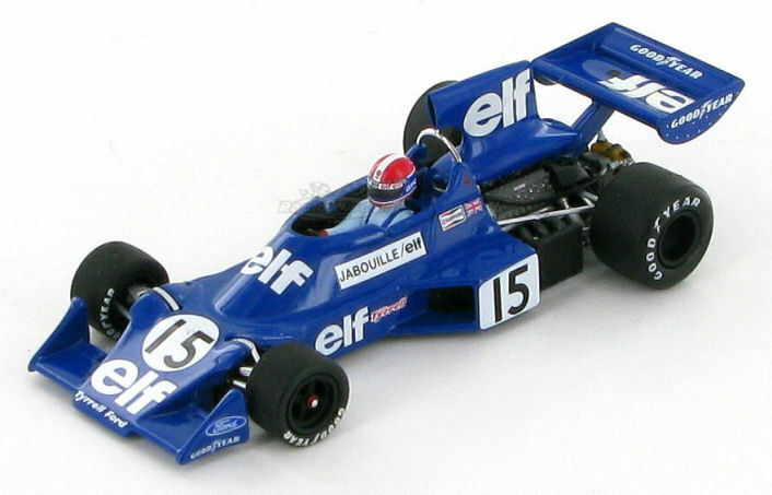 Tyrrell Ford 007 Jean-Pierre Jabouille 1975 1:43 400 Minichamps 400 1:43 750015 3c333b