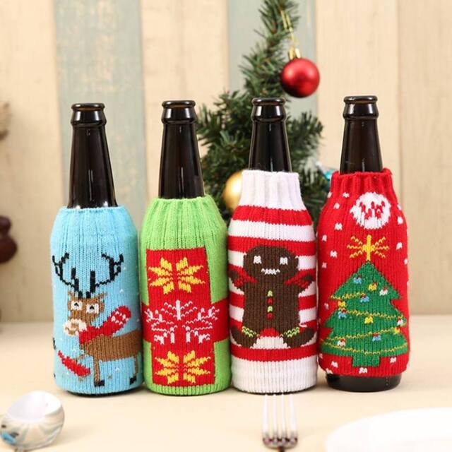 Xmas Ugly Knitted beer coolers | Christmas gifts for your ex | Beanstalk Mums