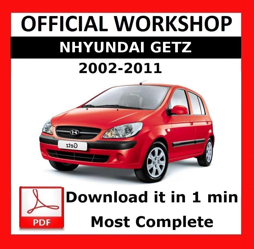 official workshop manual service repair hyundai getz 2002 2011 ebay rh ebay co uk Hyundai Wallpaper Volkswagen Polo