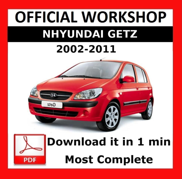 official workshop manual service repair hyundai getz 2002 2011 ebay rh ebay co uk hyundai getz service manual pdf hyundai getz workshop manual