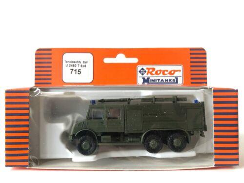 Roco minitanks 715 Tanklöschfahrzeug BW U 2450 T 6x6-1:87
