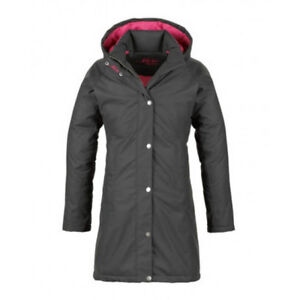 43d4cd78a31 Details about MUSTO ARCTIC JACKET LADIES LONG WATERPROOF DUCK DOWN FILL  EQUESTRIAN WINTER COAT