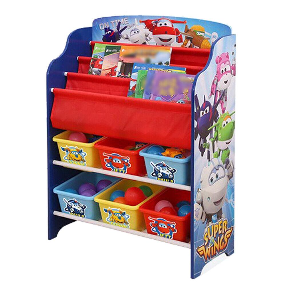 Enfants étagère de rangement étagère étagère Jouets jouet caisse Super Wings 6 MODEL
