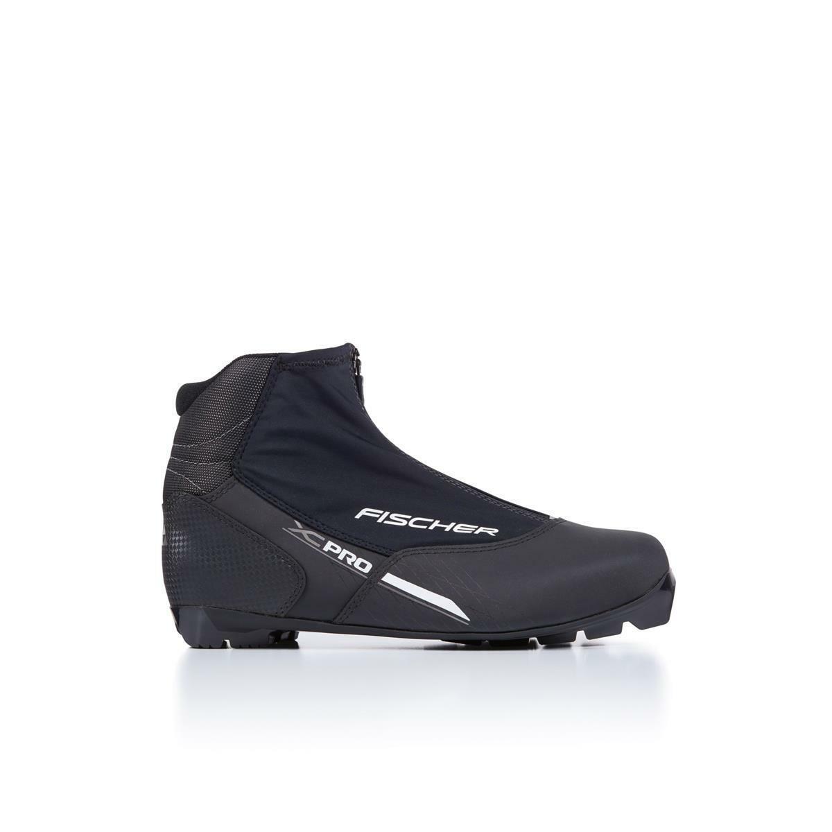 Fischer XC Pro schwarz Silber, Langlaufschuhe - 2019 20