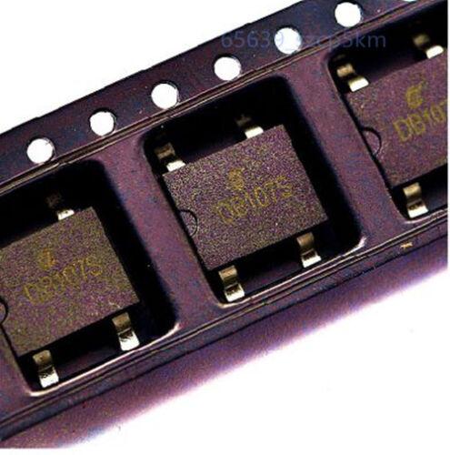 20 PCS pont redresseur DB107S 1 A 1000 V 4-pin SMD SMT