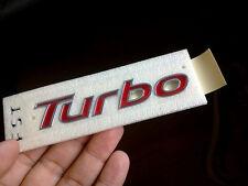 "Genuine 2012 2013 Hyundai Veloster ""Turbo"" Trunk Emblem"