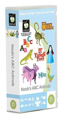 CRICUT - Noah's ABC Animals - Cartridge 2001190