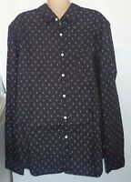 Mens Aeropostale Long Sleeve Printed Woven Shirt 4623