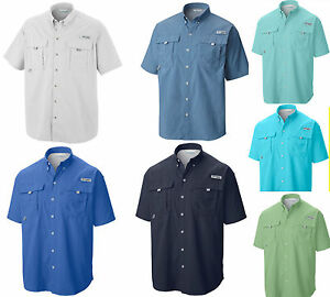 Nwt 39 s new columbia men s pfg bahama ii short sleeve shirt for What is a pfg shirt