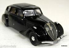 TEK HOBY 1/43 - TH 014B PEUGEOT 402B BLACK RESIN MODEL CAR
