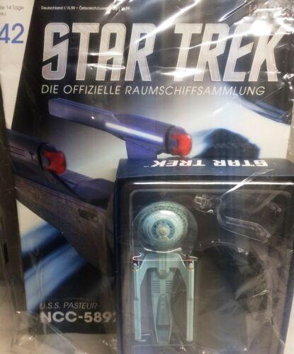 STAR TREK Raumschiffsammlung Magazin #42 USS Pasteur NCC-58925 Eaglemoss deutsch