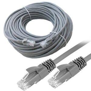 30M RJ45 Cat5E premium réseau lan ethernet modem routeur adsl câble patch utp uk