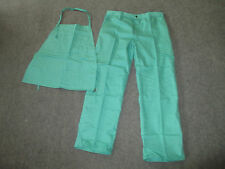 Sparkguard Welding Flame Resistant Apron Amp Pant Set New In Package