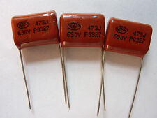 20pcs 100V 473 J 0.047uf 47nf 47000pf P5 CL21X CBB metal film capacitor