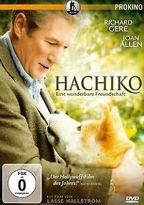 Hachiko-Eine-wunderbare-Freundschaft-von-Lasse-Hallstroem-DVD-Zustand-gut