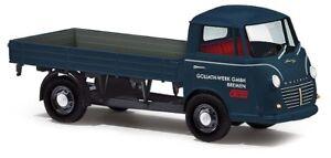 Busch-94220-3K-GOLIATH-Express-1100-Flatbed-GOLIATH-Plant-Model-1-87-H0