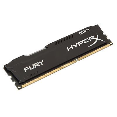 8GB HyperX Fury schwarz DDR3L-1866 CL9 RAM Low Voltage