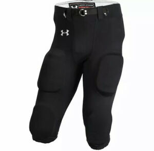 Large NEW UFP545M Under Armour Men's Gray Force Football Pants Sz