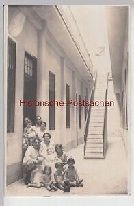 (f13175) Orig. Photo Personnes U. Beaucoup D'enfants Entre Maisons, 1920er-afficher Le Titre D'origine PosséDer Des Saveurs Chinoises