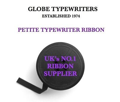 1 /'OLYMPIA/' *PURPLE* TYPEWRITER RIBBON *FOR MOST OLD MACHINES* *TWIN SPOOL*