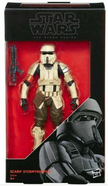 "Scarif Stormtrooper Star Wars Black Series 6/"" inch Walmart Exclusive Sealed NIB"