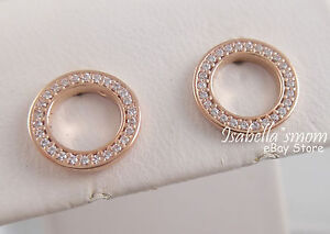 Image Is Loading Forever Pandora Genuine Rose Gold Plated Open Circle