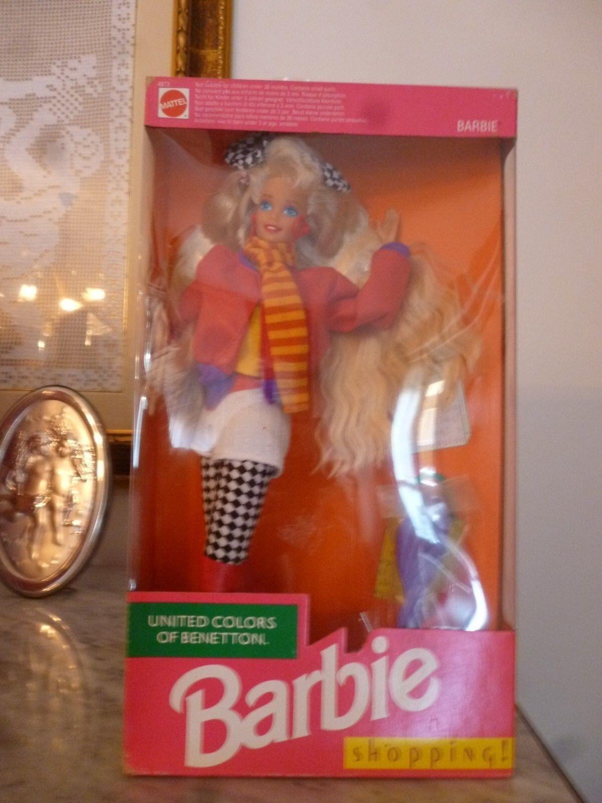1990 Barbie Benetton versione rarissima hawaiian superstar picture pretty house