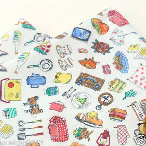Laminated Cotton Fabric By The Yard 44 Wide Cozy Lets Go Camping