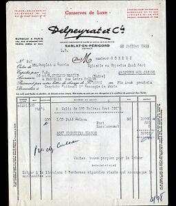 SARLAT-24-USINE-de-CONSERVES-de-LUXE-TERRINES-034-DELPEYRAT-amp-Cie-034-1953