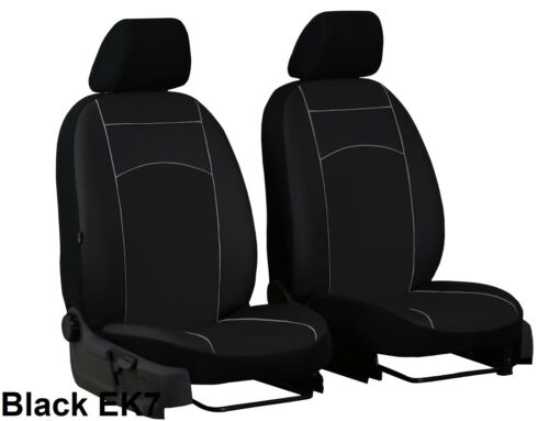 AUDI Q3 2011-2018 ECO LEATHER TAILORED FRONT SEAT COVERS MADE TO MEASURE FOR CAR