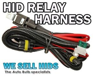 Details about Xenon HID Kit Wire Relay Harness H7 H1 H3 40 AMP Loom BALLAST  PROBLEM FLASHING