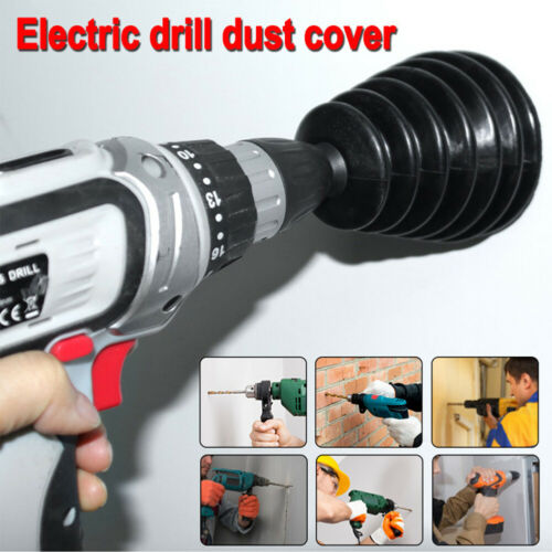 Electric Hammer Dust Cover Impact Drill Suspended Ceiling Punch Receiving Dust