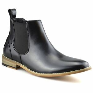 Mens-Memory-Foam-Chelsea-Ankle-Boots-Casual-Smart-Formal-Dealer-Work-Shoes-Size