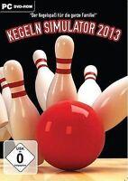 Pc Computer Spiel Kegeln Simulator 2013 Bowling Simulation Neunew