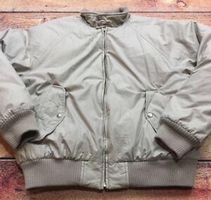 Ralph Bomber Details Puffer Harrington Polo Lauren Jacket S About Flight Vtg Goose Down 90s kiuPXZ