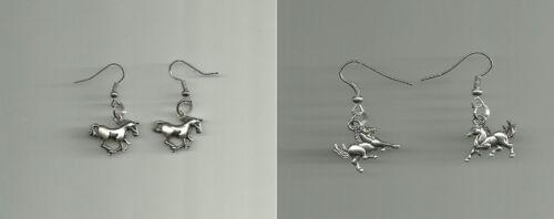 Horse Charm Earrings