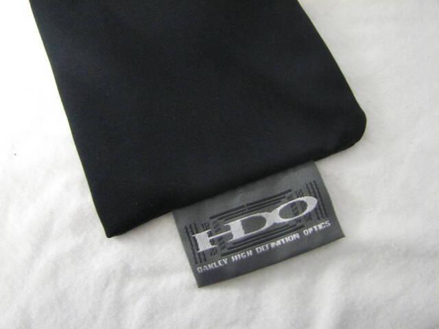 3062875732 OAKLEY FIVES SUNGLASSES MICRO FIBER SOFT CLEANING   STORAGE CLOTH BAG BLACK  NEW