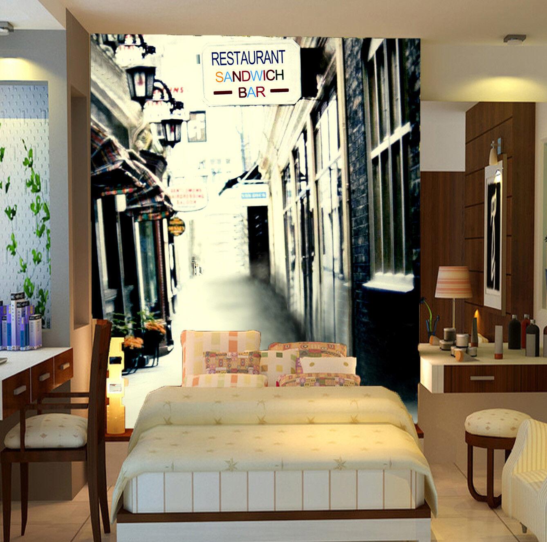 Papel Pintado Mural De Vellón Bar 13 De La Calle 13 Bar Paisaje Fondo De Pantalla ES AJ 34bd24