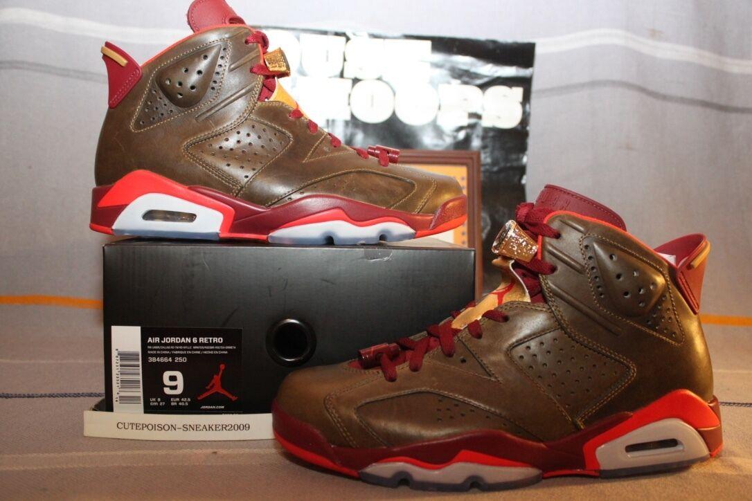 d1cbf6d86ba 2014 Nike Air Jordan Retro 6 Cigar US Men SZ 9 RARE [384664-250] W Receipt  QS ntxbev3383-Athletic Shoes